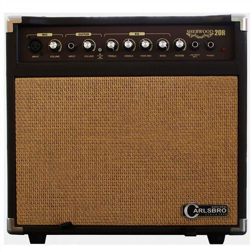 Carlsbro Sherwood 20R Acoustic Combo Amplifier Wedge 20 Watt